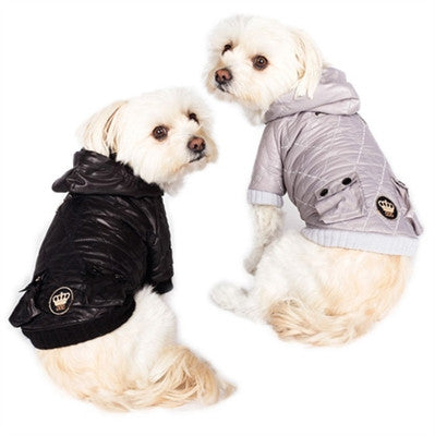 Dogs of Glamour Quilted Jacket