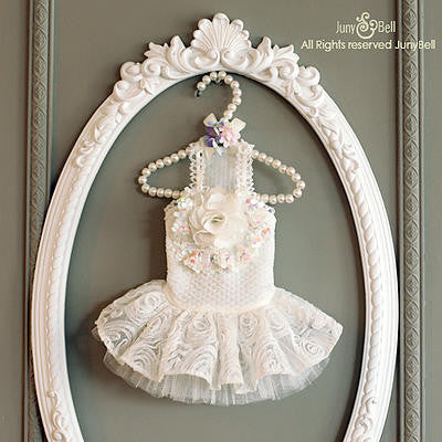 "Junybell ""Bride of May"" Dog Dress"