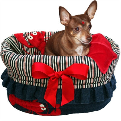 Pet Flys  Reversible Snuggle Bugs Pet Bed, Bag, and Car Seat in One -4 Color Options