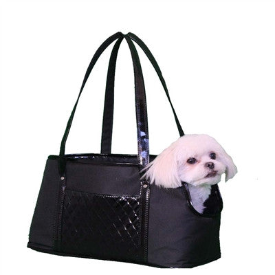 Petote Ella Pet Carrier - Black