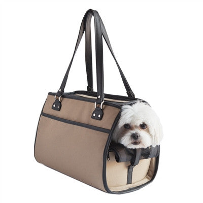"Petote ""Payton"" Dog Carrier - Khaki"