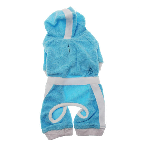 Dogo PuppyPAWer Terry Hoody Jumper - Blue