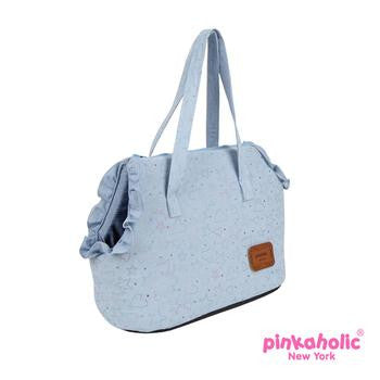 Skyline Dog Carrier by Pinkaholic - Light Blue