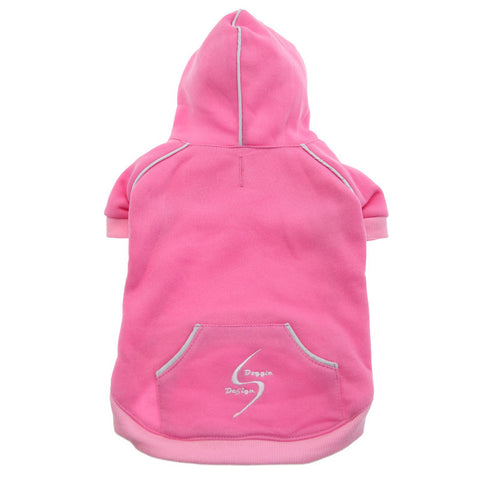 "Doggie Design ""Sport Dog"" Hoodie - Carnation Pink"