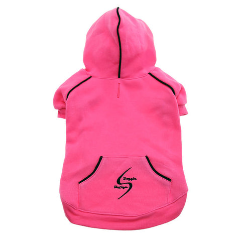 "Doggie Design ""Sport Dog"" Hoodie -Raspberry Sorbet"