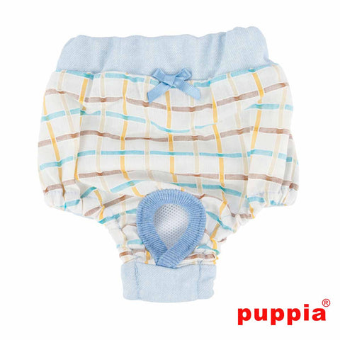 Puppia Tot Dog Sanitary Pants - Sky Blue