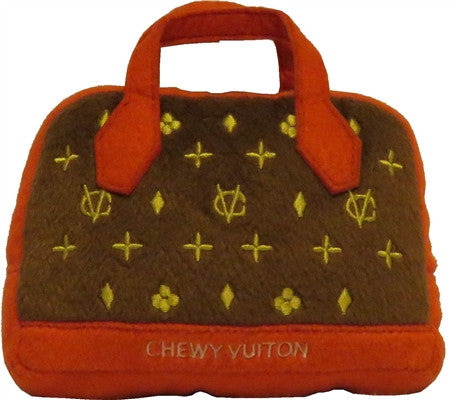 Chewy Vuiton Posh Purse ( Red Trim )