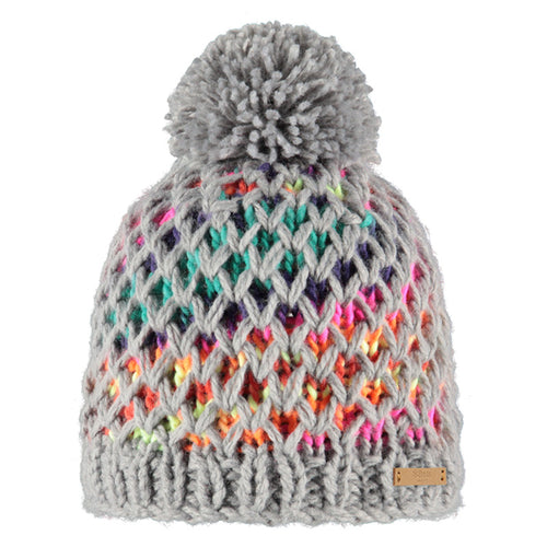Barts Max Beanie Heather Grey