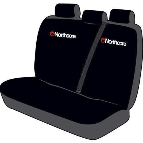 Northcore Triple Car Van Seat Cover Black