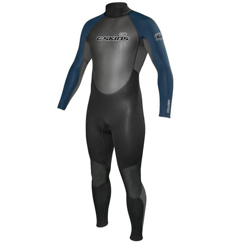 C-Skins Mens Element 3/2 Wetsuit Black / Graphite / Ink Blue