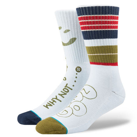 Stance Mark Gonzales Skate Legends Socks Rugby Blue M556C17SMI