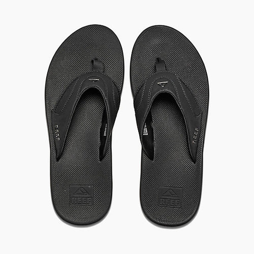 Reef Fanning Mens Sandals All Black