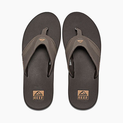 Reef Fanning Mens Sandals Brown Gum