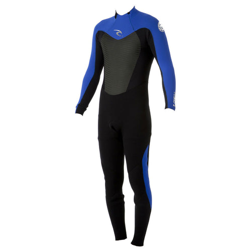2017 Rip Curl Kids Omega 4/3mm Back Zip Wetsuit Blue WSM5FB