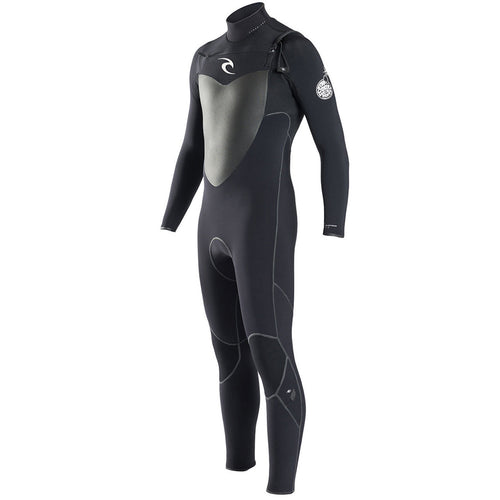 2017 Rip Curl Flashbomb 5/3mm Chest Zip Mens Wetsuit Black WSU6DF