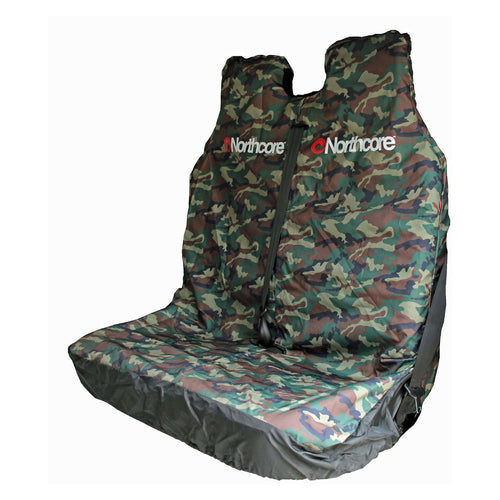 Northcore Double Car Van Seat Cover Camo