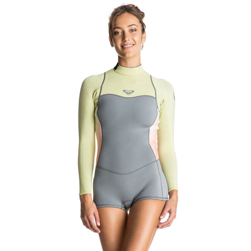 2017 Roxy Syncro 2mm Back Zip Womens Springsuit Camellia