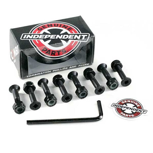 Independent Indy Combi Bolts 1 Inch Phillips / Allen Key Combo Truck Bolts