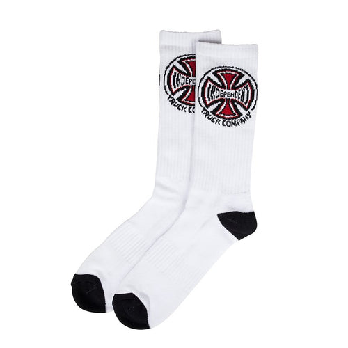 Independent Truck Co Socks (2 Pairs) White One Size