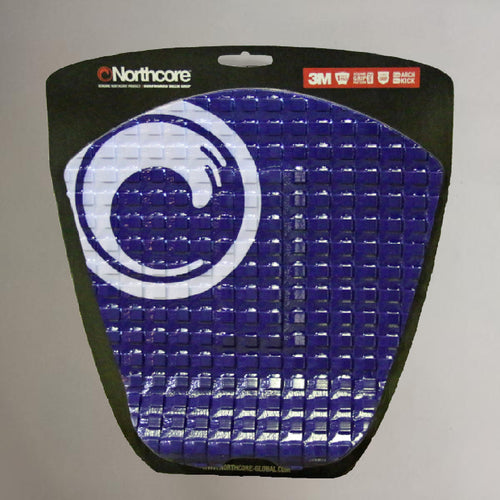 Northcore Surfboard Deck Grip Tailpad Blue