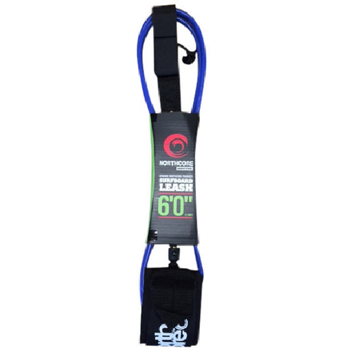 Northcore Addiction 6ft Leash Blue