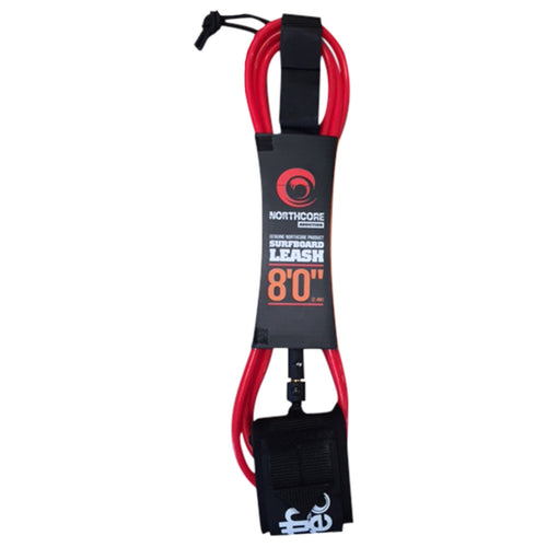 Northcore Addiction 8ft Leash Red
