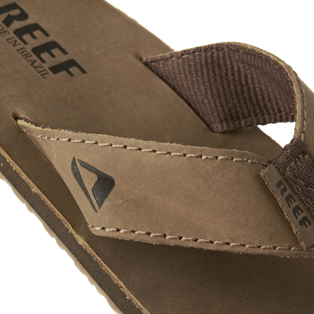 Reef Leather Smoothy Mens Sandals Brown,Sandals,product_vendor] Flow Surf Skate Porthcawl Wales UK