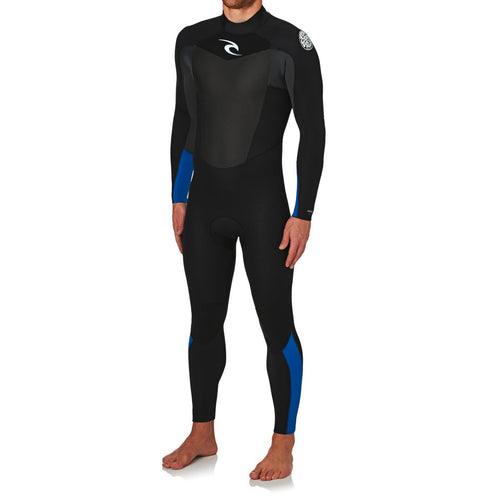 2017 Rip Curl Omega 3/2mm Back Zip Wetsuit Blue WSM6LM