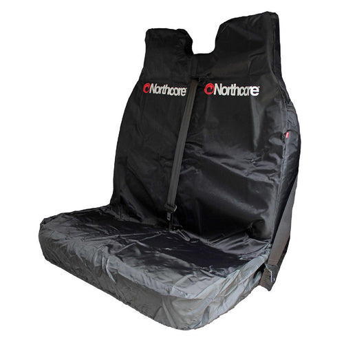 Northcore Double Car Van Seat Cover Black