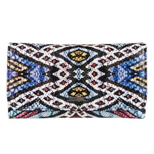 Roxy My Long Eyes Purse Wallet Regata Soaring Eyes ERJAA03238