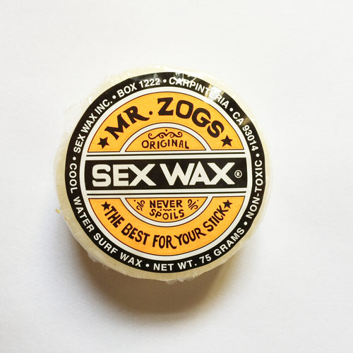 Sex Wax Original Surf Wax Cool The Original Since '72