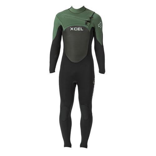 Xcel Infiniti X2 5/4 Chest Zip Wetsuit Celiant