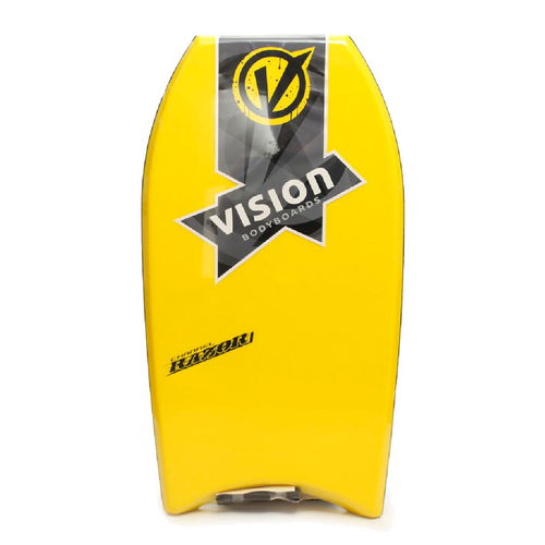 "Vision Razor 36"" Bodyboard Including Leash"