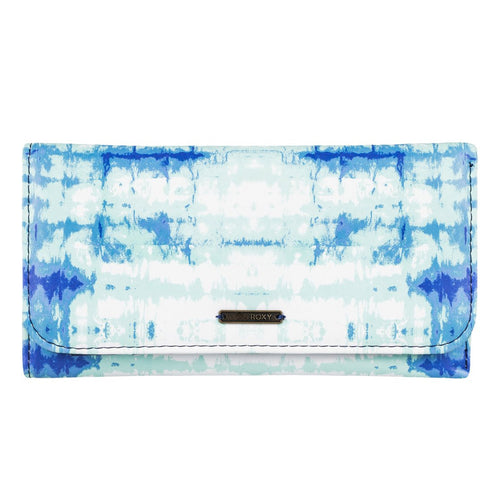 Roxy My Long Eyes Purse Wallet Marshmallow Antares Tie Dye ERJAA03238