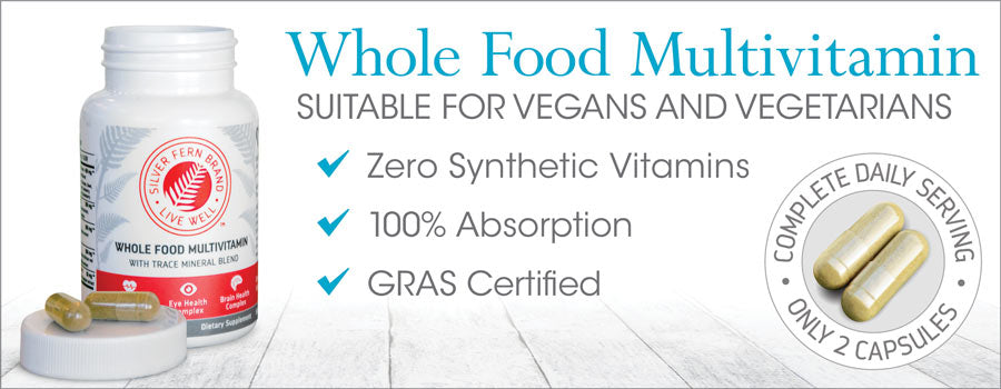 Whole Food Multivitamin - GRAS Certified