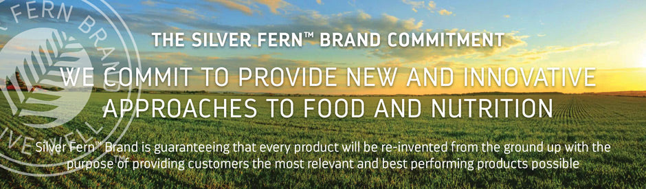 Silver Fern Brand is committed to exceeding expectations. We only offer the very best products with the most careful selection of ingredients. We guarantee the best quality and most innovation in the industry.