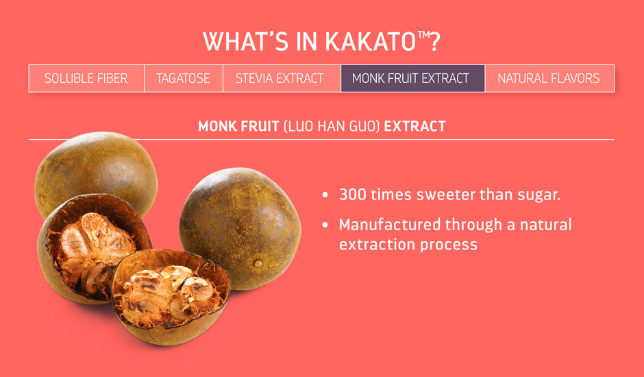 Kakato - Monk Fruit Extract