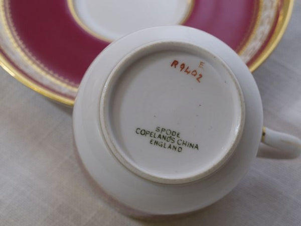 Spode England Demitasse, Set of 4