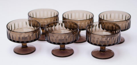 Vintage Cocktail Glasses