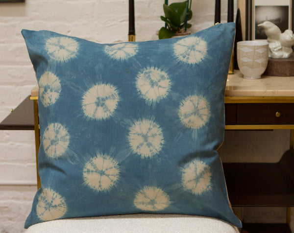 Shibori Pillow Starburst