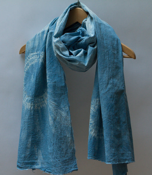 Shibori Cotton Scarf