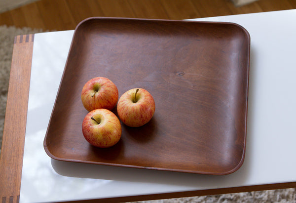 MidCentury Wood Tray