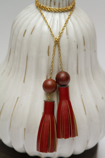 Tassle Lariat Necklace