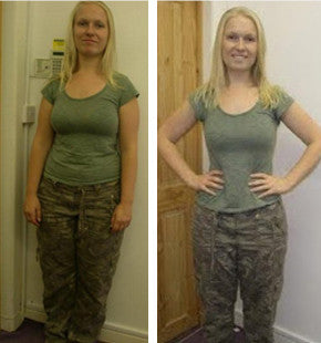 Karina lost over a stone in 6 weeks