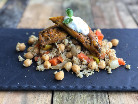 Mackerel & Chickpea Salad