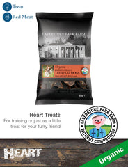 Laverstoke Organic Dried Heart Treats