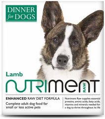 Nutriment: Dinner for Dogs: Lamb