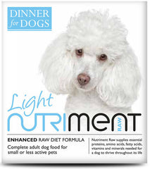 Nutriment: Dinner for Dogs: Light