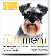 Nutriment: Dinner for Dogs: Turkey