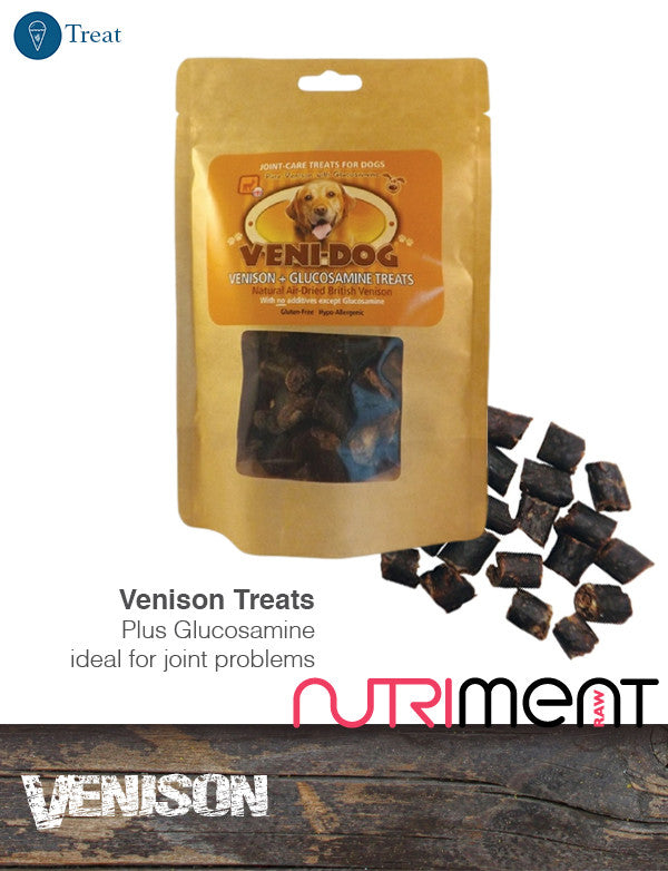Veni-Dog: Venison & Glucosamine Treats
